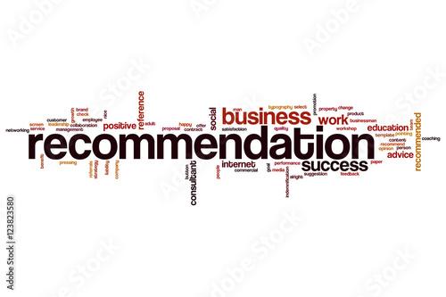recommendation word cloud stockfotos und lizenzfreie bilder auf bild 123823580. Black Bedroom Furniture Sets. Home Design Ideas