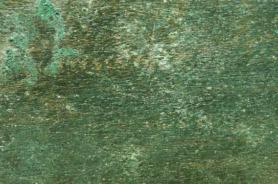 Aged copper plate