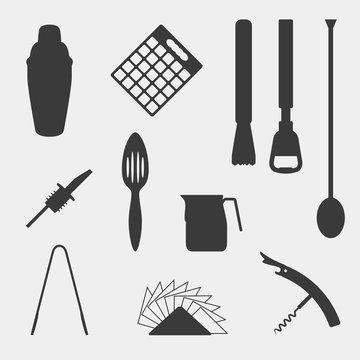 Bar tools icons