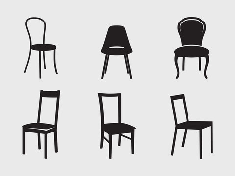 Chairs icons