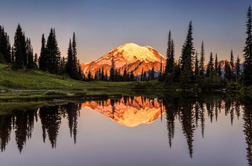 Mount Rainier reflection from Tipsoo Lake