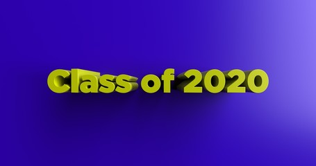 Image result for Class of 2020 blue and yellow