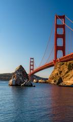 Golden Gate Bridge at sunrise, part I