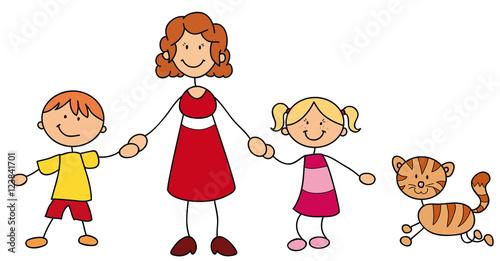 alleinerziehend mit 2 kindern