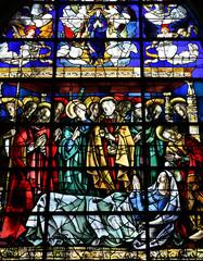 Duclair, France - june 22 2016 : Saint Denis church
