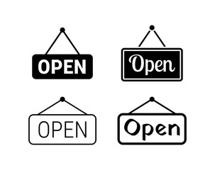 Open icons set