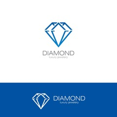 diamond abstract logo