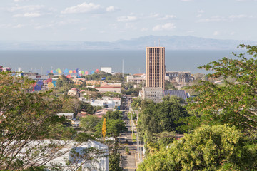 Managua view from Tiscapa, Nicaragua