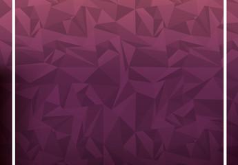 Purple Polygonal Illustration