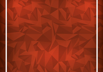 Red Polygonal Illustration