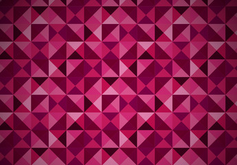 Pink Pyramid Stud Pattern