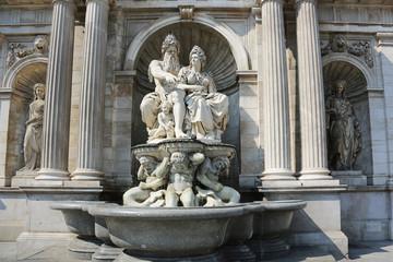 Albrechtsbrunnen Vienna Austria
