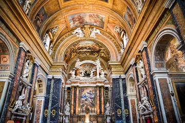L'église Chiesa di Gesù e Maria à Rome