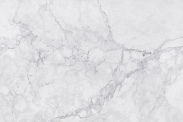 White marble texture with natural pattern for background or design.