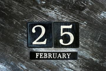 Şubat 25th