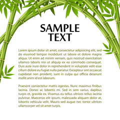 Bamboo layout template