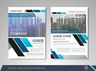 Business flyer cover design