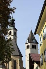 St. Andreas Kirche in Kitzbühel (Tirol in Österreich)