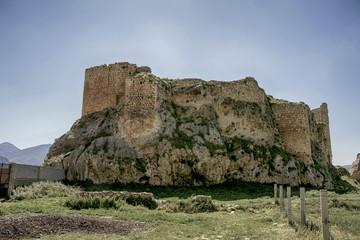 Ruinas del antiguo castillo del municipio de Bedmar, Jaén