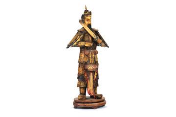 Mongolische Krieger-Skulptur