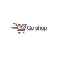 cart shop deal logo icon