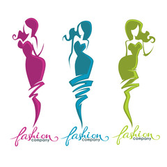 fashion and beauty logo and emblem