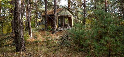 Verstrahltes und evakuiertes Kinderdorf bei Chernobyl