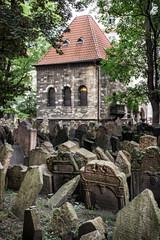 Jewish cemetery in Prague, Czech republic
