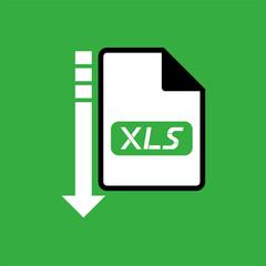 computer xls file icon