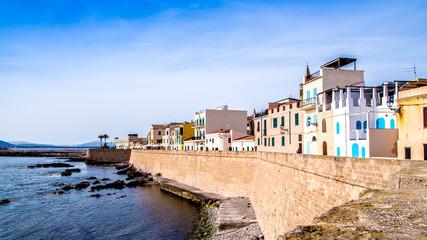 Promenade of Alghero, Sardinia