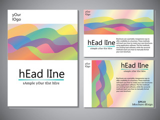 Template of book cover for brochure,flyer,annual report .Vector design illustration eps10