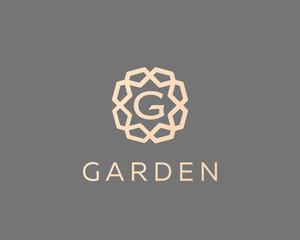 Premium letter G logo icon vector design. Luxury jewelry frame gem edge logotype. Print monogram initials stamp sign symbol.