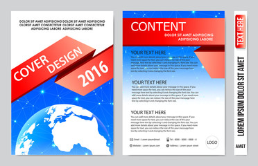 Cover book presentation design