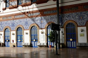 Bahnhof in Jerez de la Frontera, Andalusien