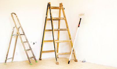 Ladders for painting operations
