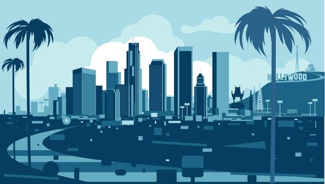 Losa Angeles Skyline