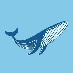 Blue whale icon