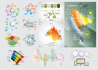 Business Infographics, vector