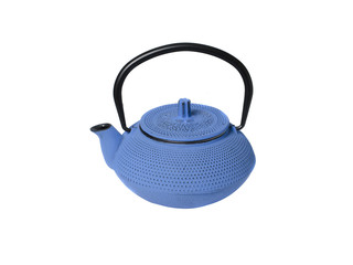 Cast iron kettle for tea in Chinese style.
