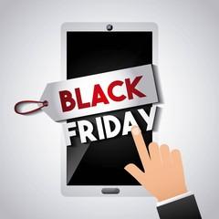 black friday sale commerce vector illustration design