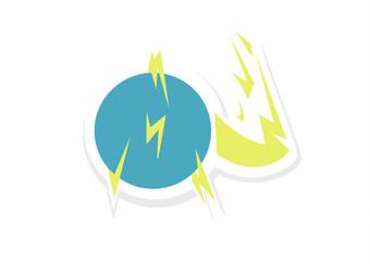 Ball Lightning Vector