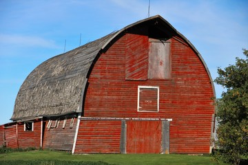 Red Barn - close-up