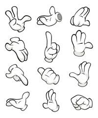 Illustration of a Hands in Gloves
