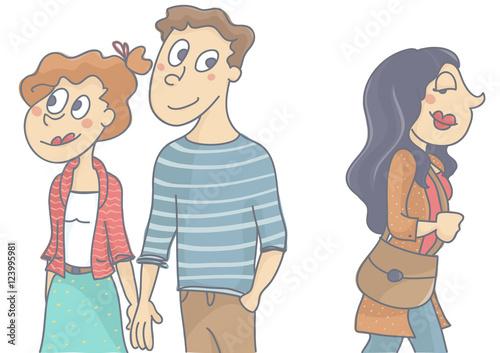 flirting vs cheating infidelity images men cartoon movie