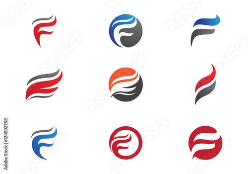 F fire logo