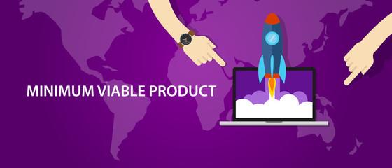 MVP minimum viable product rocket launch