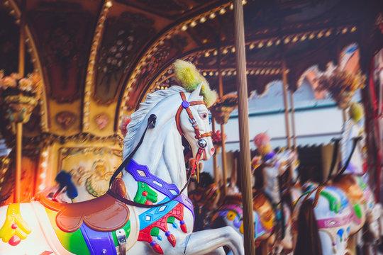 Luna park - carousel ride series