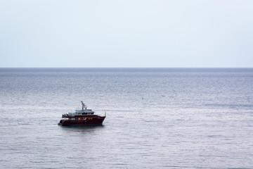 Sailing in calm