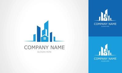 Building city scape logo