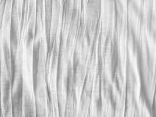 Crumpled white fabric cloth texture
